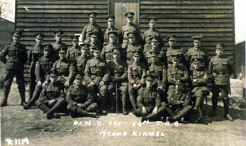 64th Training Batt. Kinmel.  GRAHAM KNIGHT