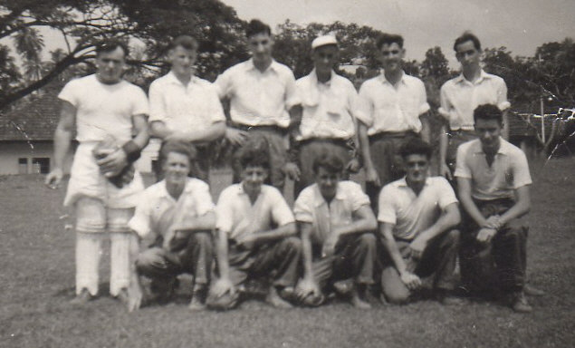 TERENCE HUGHES  CRICKET TEAM